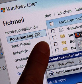 Tek kullanımlık Hotmail!