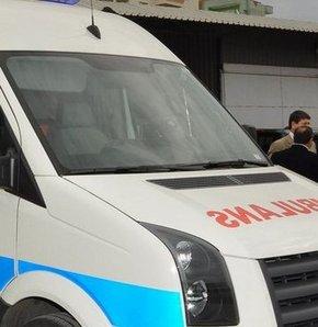 Sarhoş vatandaş ambulansı kaçırdı!