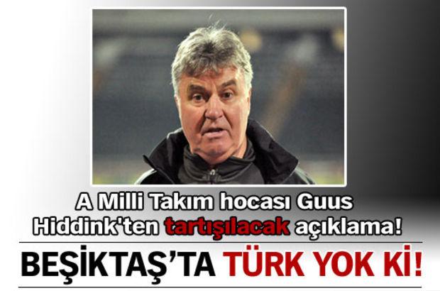 Beşiktaş'ta Türk yok gibi!