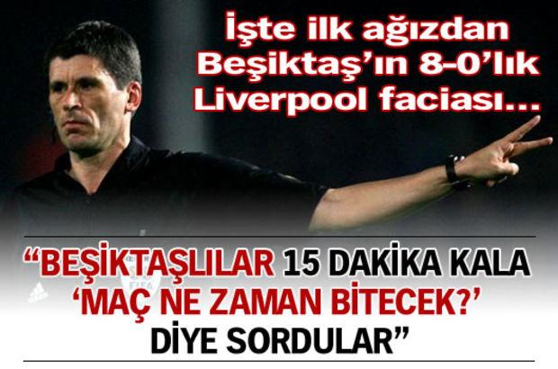 Liverpoollular da maç bitsin istedi!