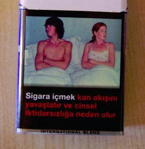 Bir paket sigarayla tecavüz
