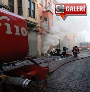 Taksim'de yangın!