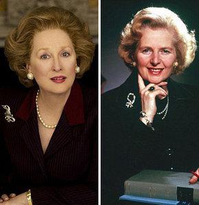 Meryl Streep 'Demir Leydi' oldu