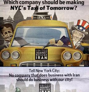 Türk taksiye ABD'de protesto