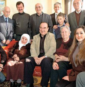 Bonanza'nın yönetmeni Kayseri'de akrabalarıyla