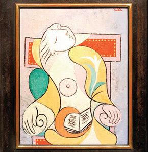 Picasso'nun tablosuna 40 milyon dolar