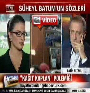 'Kağıttan kaplan' tartışmasını Fatih Altaylı yorumladı!