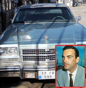 'Taçsız Kral'ın otomobili satışta