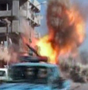 Gazeteye bombalı saldırı