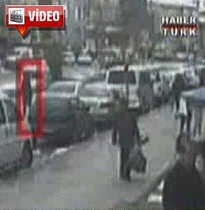 Bakanın koruma ekibindeki araç böyle çalındı!