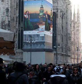 Kız Kulesi Milano'da