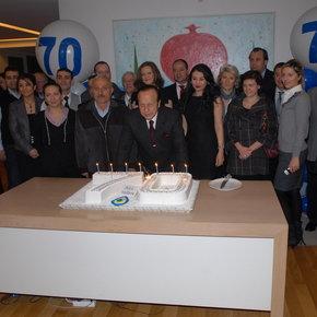 Yılmaz Ulusoy'a çifte doğum günü