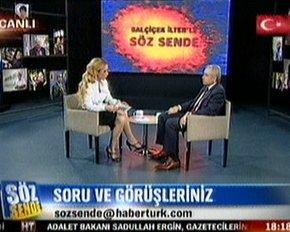 Ahmet Ertürk, Balçiçek İlter'e konuştu