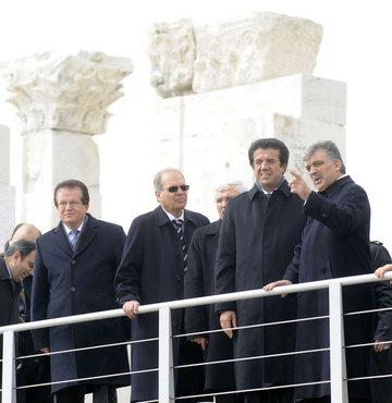 Cumhurbaşkanı Gül, Denizli'de
