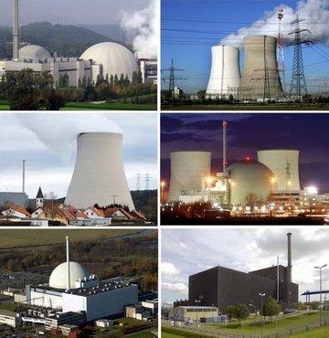 Nükleer santrallere geçici kapama