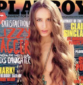 629783 detay - Mick Jagger'ın kızı Playboy'a soyundu