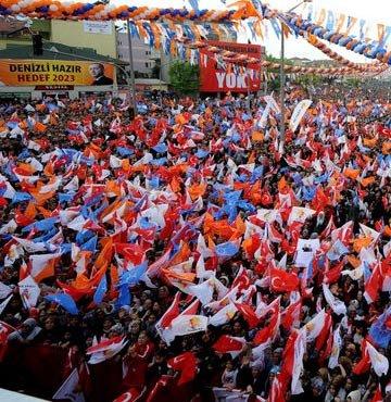 Erdoğan'ın mitinginde şok olay!
