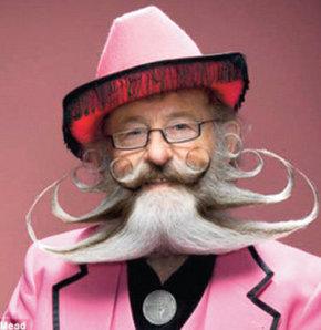 Dünyanın en ilginç bıyık ve sakalları!