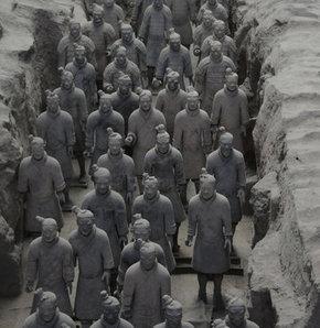 Çin'in toprak asker gizemi  GALERİ