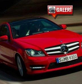 Yeni Mercedes C Coupe Türkiye'ye geliyor! GALERİ