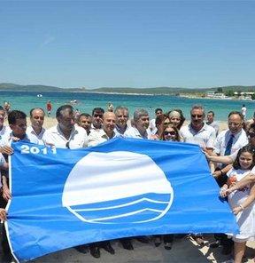 2011'de Ege'nin ilk mavi bayrakları orada!