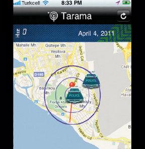 Cepte radarsavar uygulama