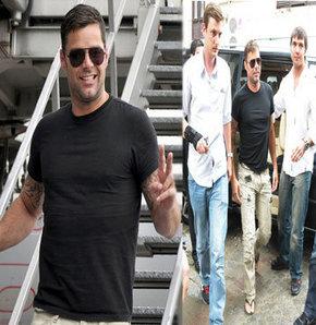 Ricky Martin İstanbul'da