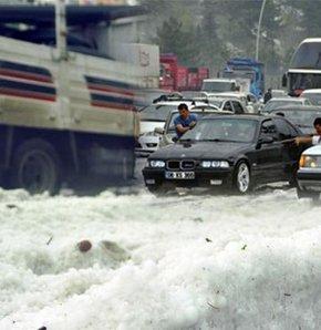 Ankara'da dolu yağdı