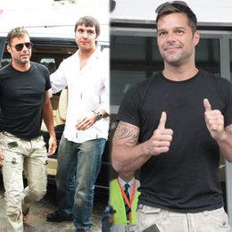 Ricky Martin İstanbul'da...