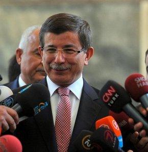 Davutoğlu'ndan Suriye ve Filistin açıklaması