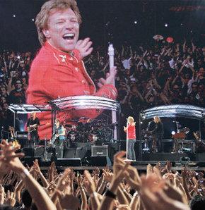Bon Jovi İstanbul'u salladı