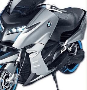 BMW, benzinli gücünde elektrikli scooter üretti