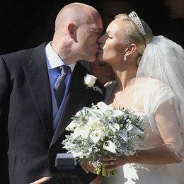 Kraliçe'nin torunu evlendi...