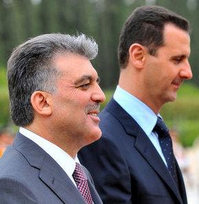 Cumhurbaşkanı Gül'den Esad'a mektup