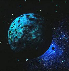 Kömürden daha siyah gezegen