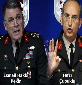 'İki general Andıç'ı kabul etmiş!'