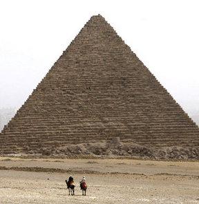 Büyük Piramit'in sırrı aydınlanıyor