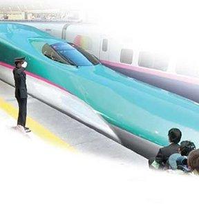Bu da japon işi: Saatte 320 km yapıyor!