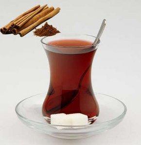 Çaya tarçın!