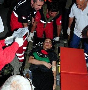 Libyalı yaralılar Türkiye'de