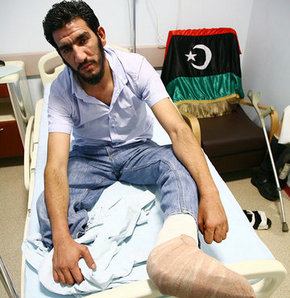 Libyalıların yaraları İstanbul'da sarılıyor