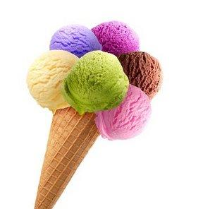 Bu da dondurma kavgası!