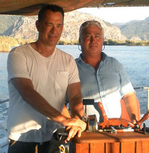 Tom Hanks mavi turda