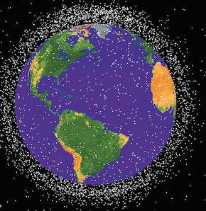 uzay, uzay boşluğu, uzayda çöp, uzaydaki çöpler, amerikan uzay ve havacılık dairesi, nasa, dünya, dünya yörüngesi, abd ulusal araştırma konseyi, uzay çöp felaket, çöp yağmuru, çöp felaketi