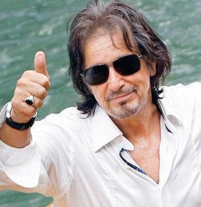 Özel partinin onur konuğu Al Pacino