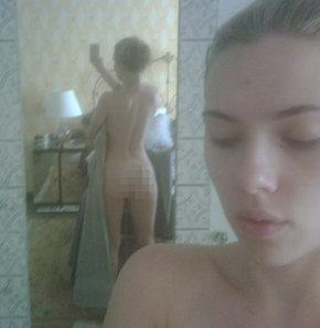 Scarlett Johansson'ın çıplak fotoğrafları internette