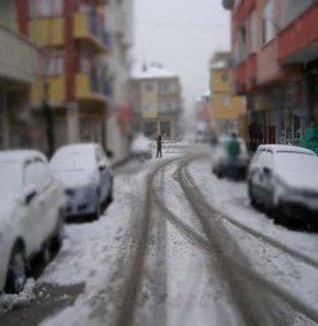 İlk kar yağdı!
