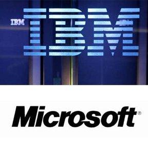 IBM, Microsoft'u geride bıraktı