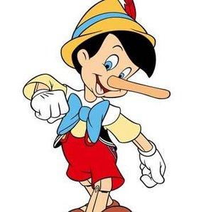 Pinokyo artık çok mutlu!