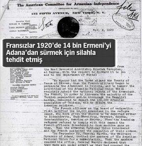 Fransızlar Ermeniler'i yanıltıyor!